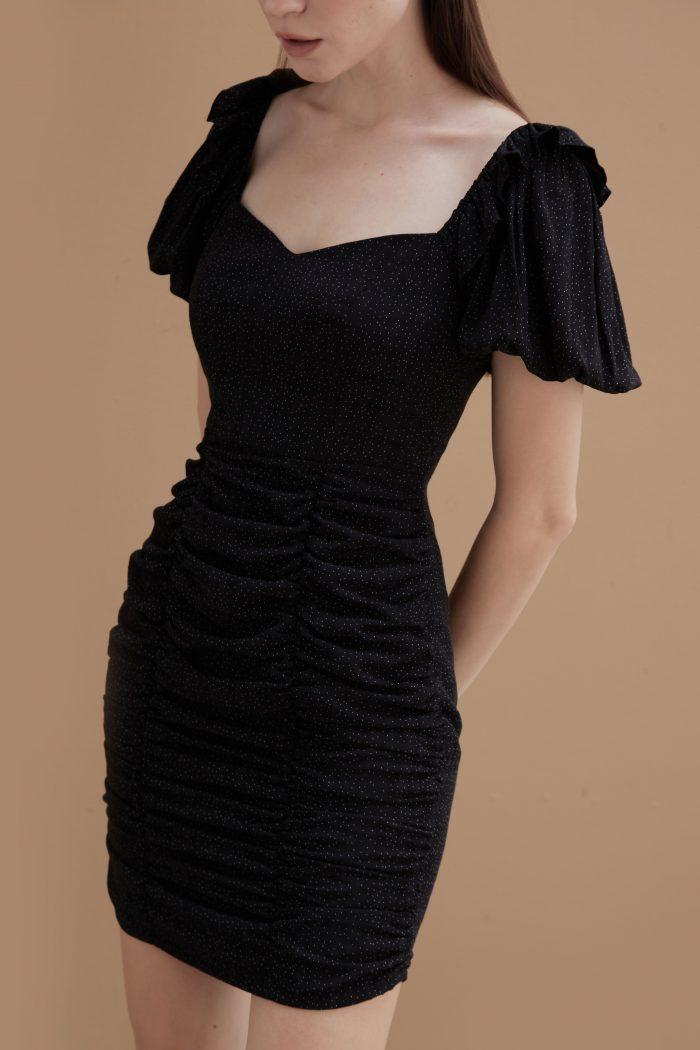 Ebony-Ruched-Dress-2