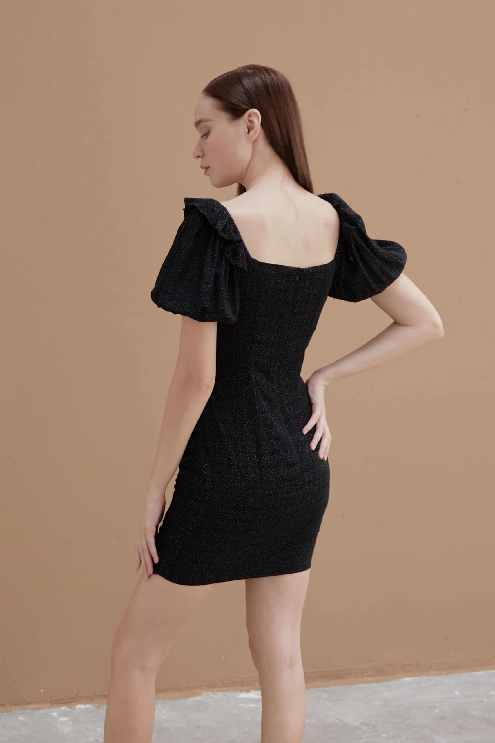 Ebony-Ruched-Dress-4