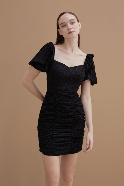 Ebony Ruched Dress